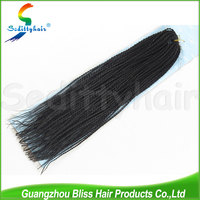 22 Inch Twists Crochet 1B Black Other Colors cheap synthetic Senegalese hair extension