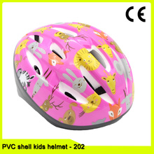 PVC shell out-mould bike/bicycle helmet for children cycling