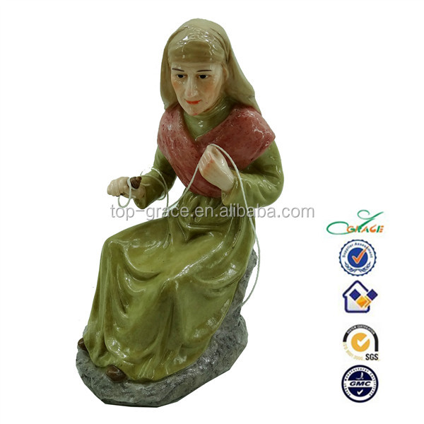 New resin christian religious items