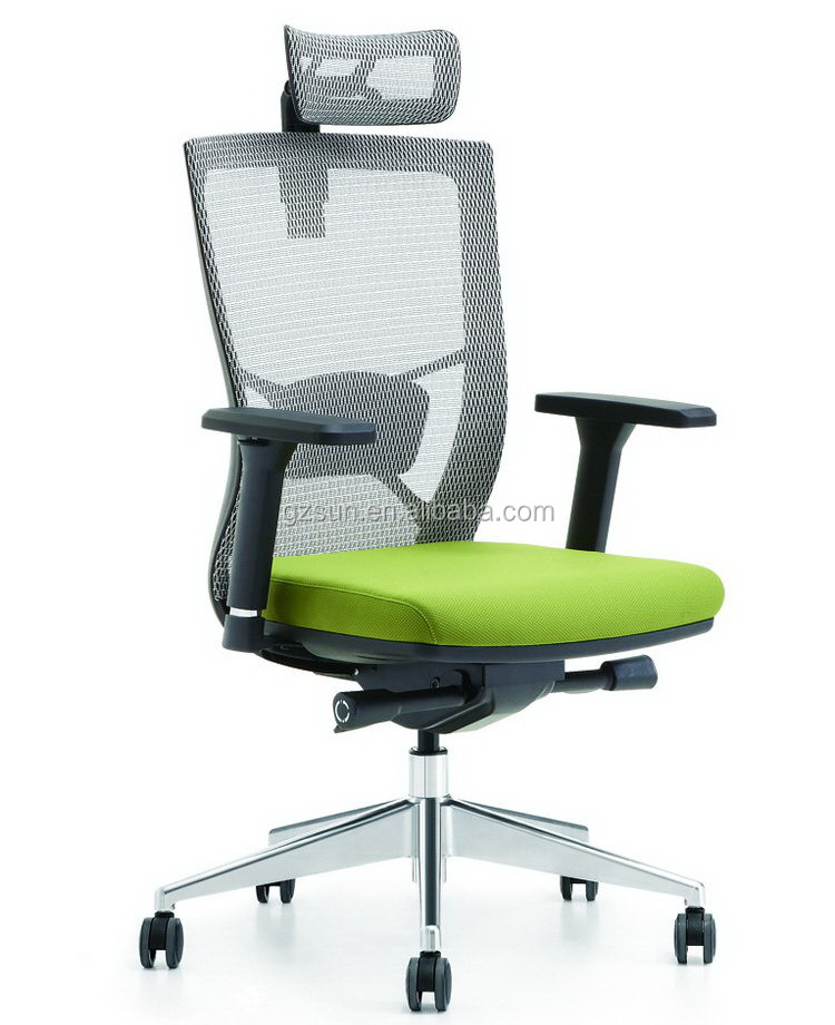 Sunshine Furniture Modern High Back Best Ergonomic Executive Mesh Office Chair With Headrest
