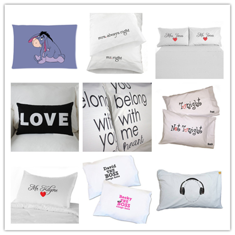 cheap price personal wholesale white pillowcases for