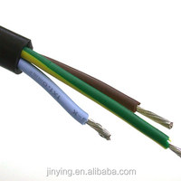 VDE HO5SS-F heating risistant silicone rubber electrical cable