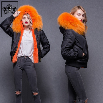 636011961c5 Wholesale Hot Selling Genuine Fur Hooded Bomber Pakistan Faux Fur Lining  Ladies Fur Jacket