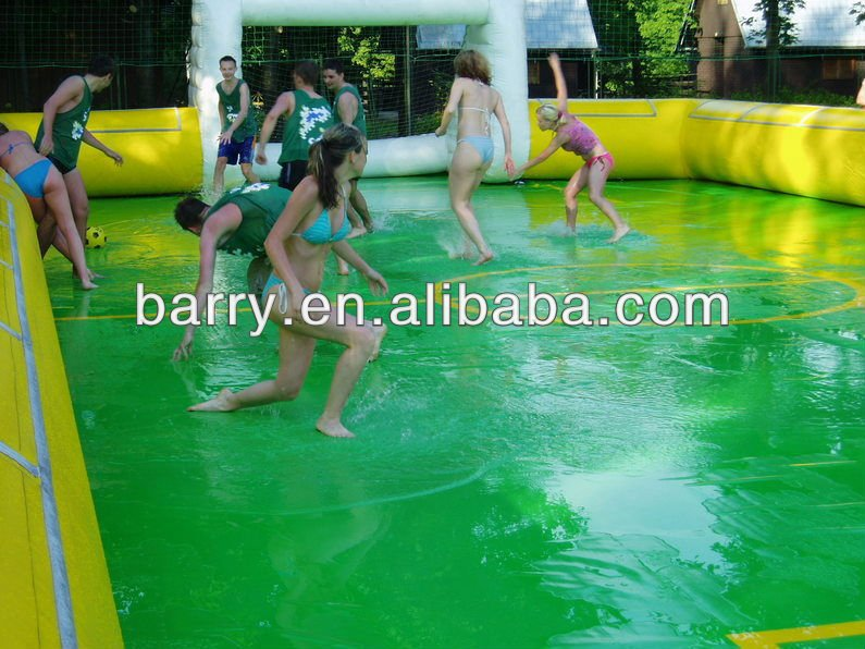 hot sale giant inflatable water soccer,water football,water games