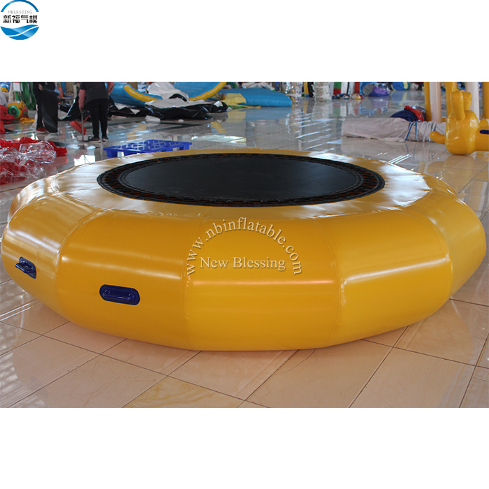 Commercial inflatable water bouncer,water blob,used inflatable water trampoline