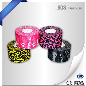 free sample easy tear zigzag edge strapping Sport Tape