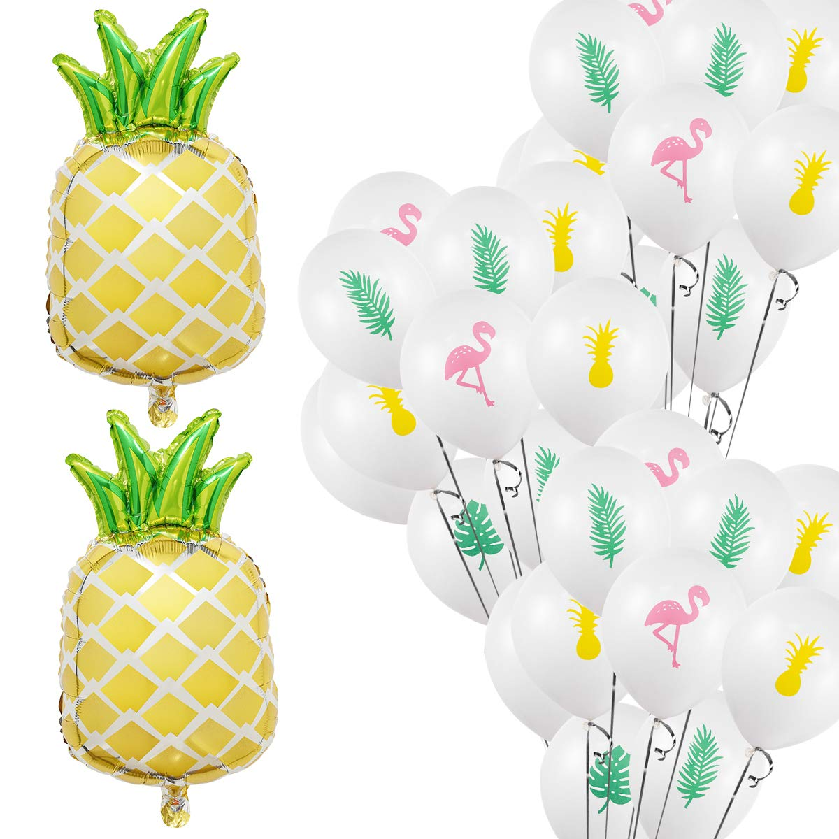 Easternhope 42pcs Pineapple Balloons Set Flamingo For Summer Hawaii Luau Pool Party Decoration Supplies Buy Summer Party Decoration Supplies Hawaiian Summer Pool Party Decorations Summer Party Decoration Supplies Product On Alibaba Com