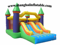 Children park amusement park ride Inflatable bounce house and slide combo Indoor and Out door playground