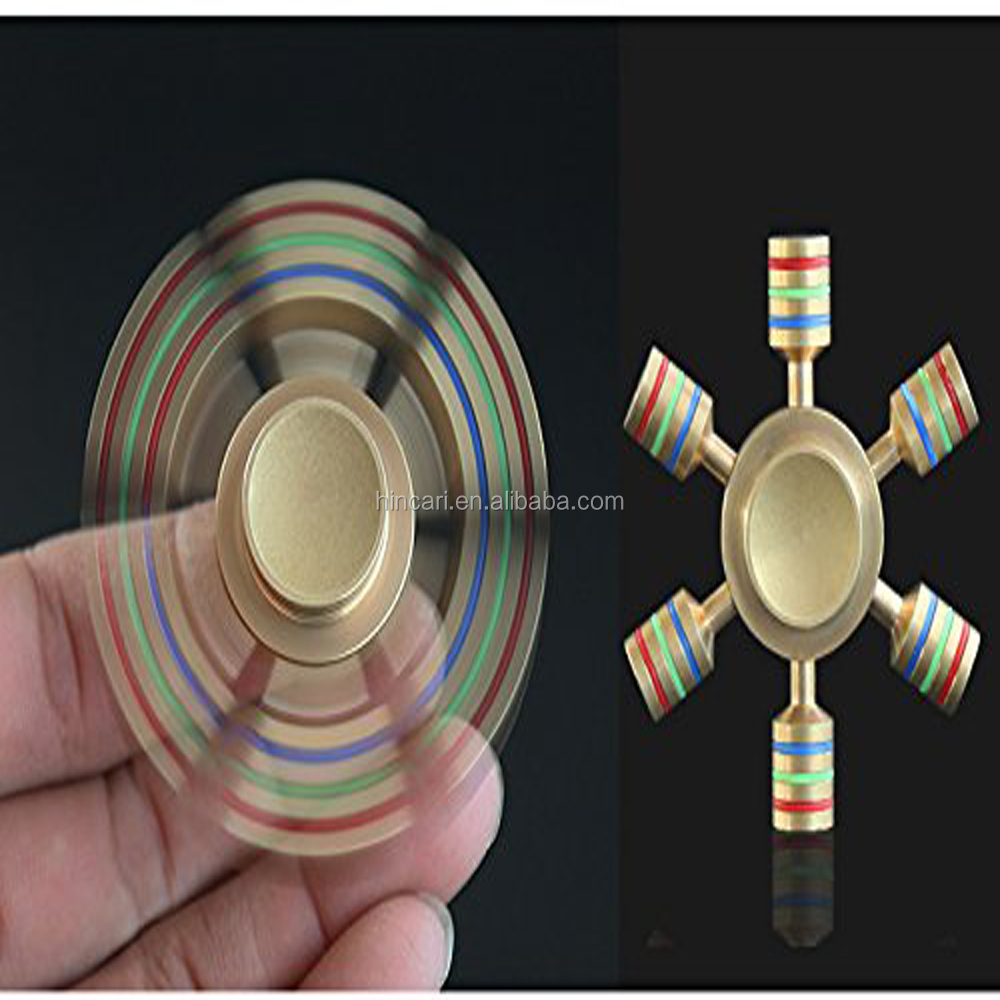 Pressure Relief EDC Toys profssiionall design attractive design different colors Metal Hand Spinner