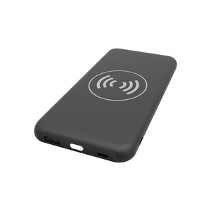 Hot Sale 10000Mah Power Bank Qi Fast Charging Wireless Charger Power bank
