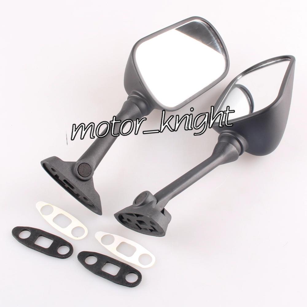 Artudatech Motorcycle Rear View Mirror Moto Side Mirror Rearview Mirrors for SUZU-KI GSXR 1000 SV 650//1000 2003-2006