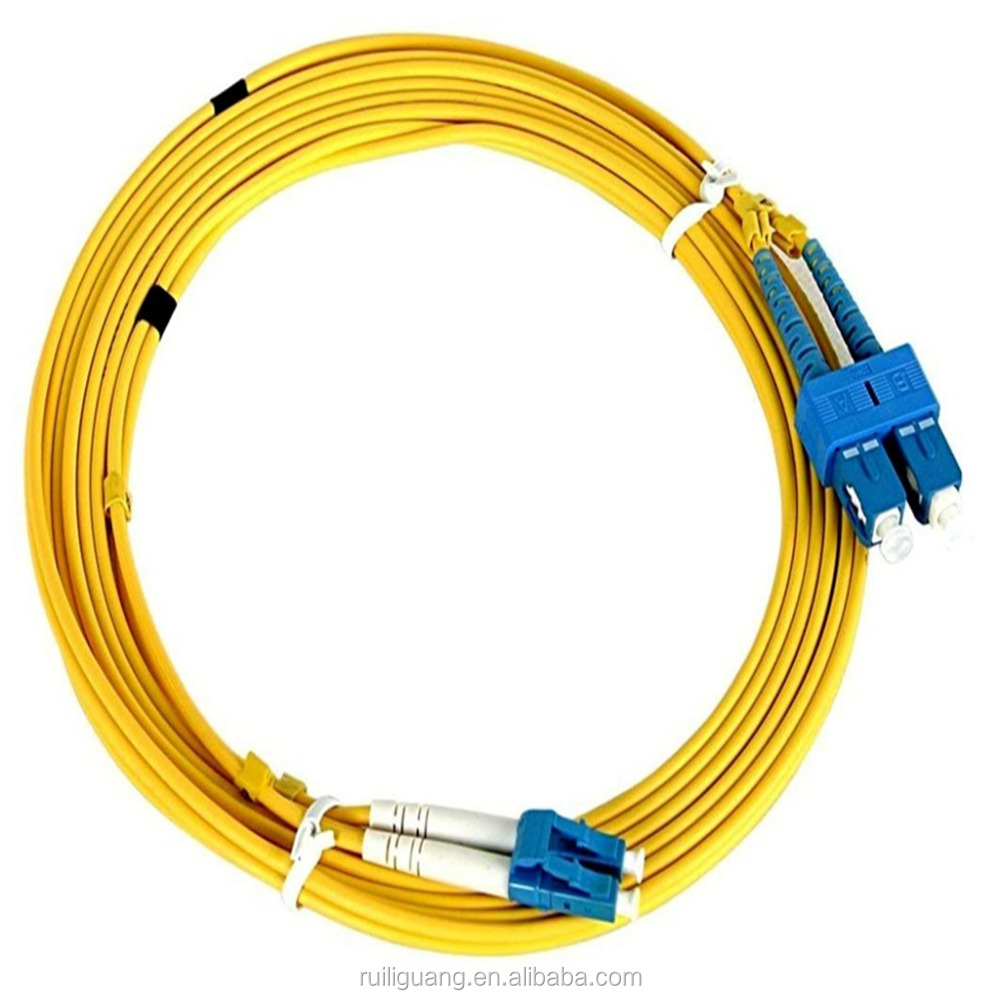 FTTH LC/UPC-LC/UPC SM 9/125 Duplex LC-LC Fiber Optic Patch Cord pigtail