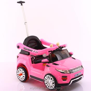 2017 Elektrische Speelgoed Kids Auto Met Push Stuur Nieuwe Kids