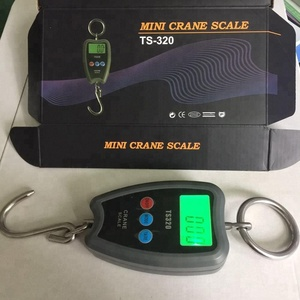 New Digital 60Kg 10g Fish Hook Hanging Electronic Weighting Luggage Scales Mini Digital Hand Held Hook Hanging Scale
