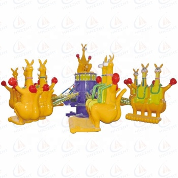 cheap amusement park products  kangaroo ride promotion