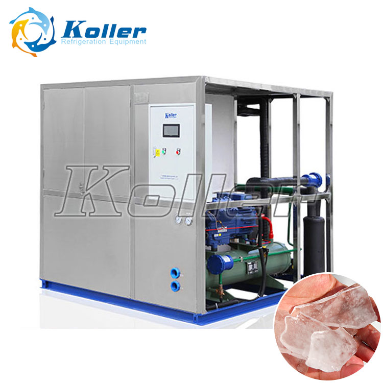 New Generation Energy Saving Plate Ice Machine for Fishing Industry