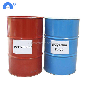 Two component blend polyether polyol and isocyanate Pu spray foam  insulation price for sale