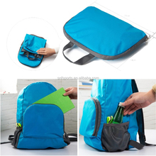 2017 Hot Item Fashion Lightweight Foldable Travel Backpack