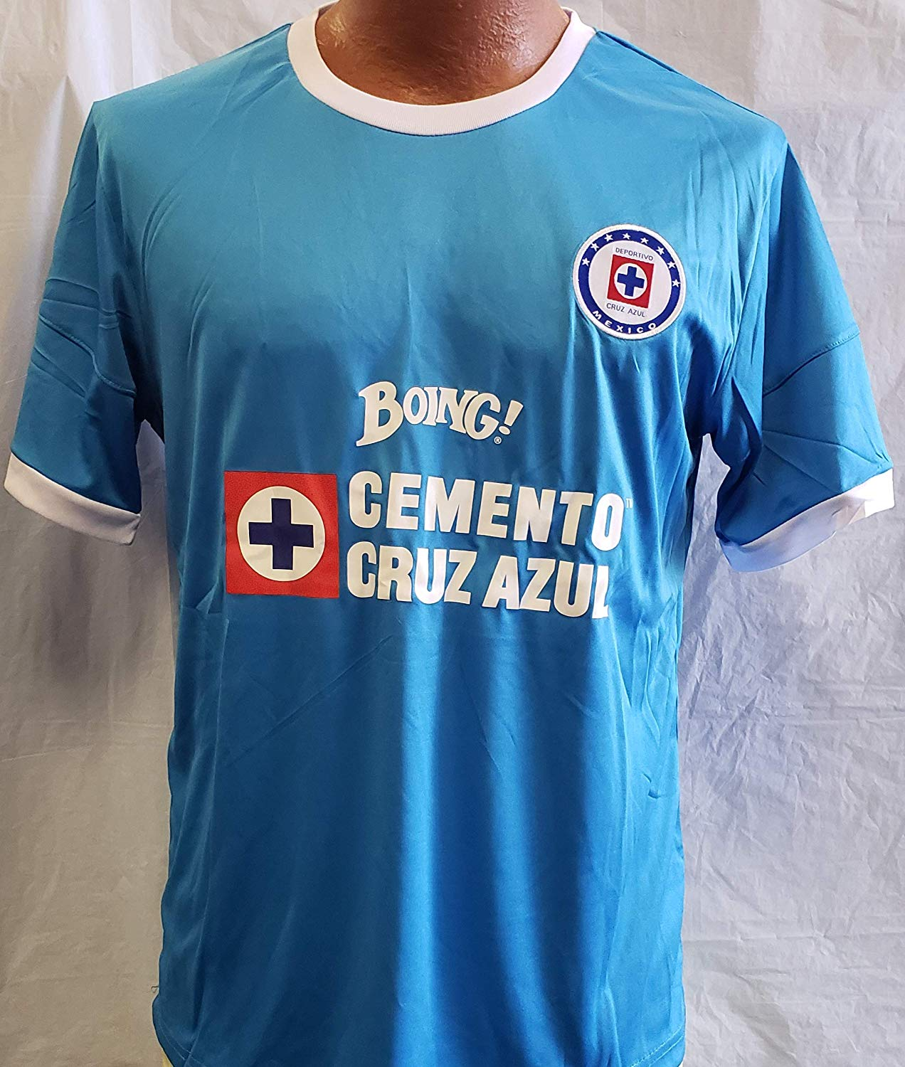 197d805ed39 Get Quotations · Sport New! La Maquina de Cruz Azul Generica Jersey Adult  Medium