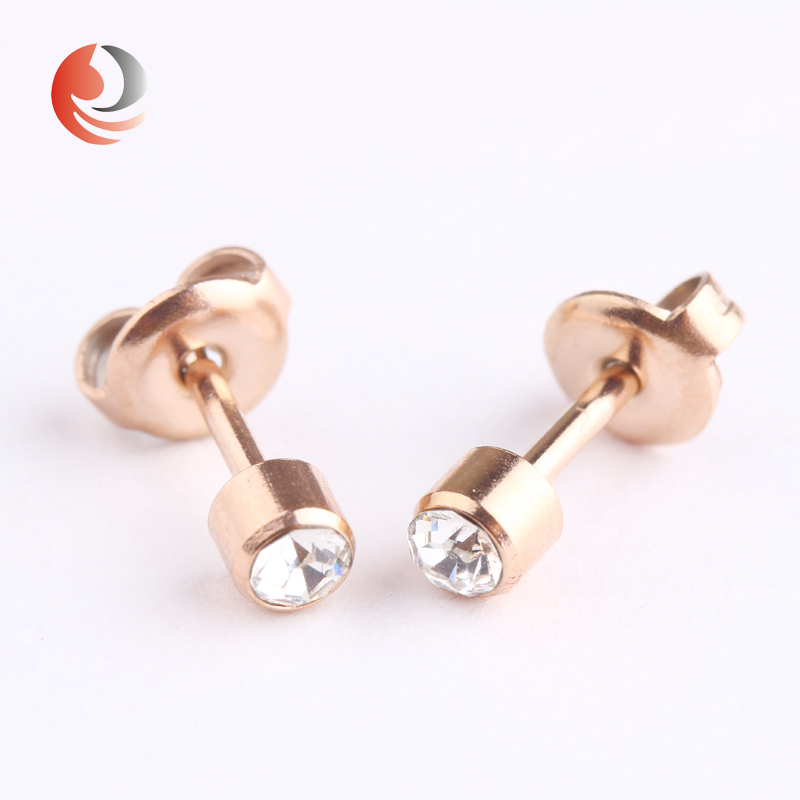 studs piercing steel small product ear earrings gold stud helix labret mini earring stainless jewelry star surgical conch black barbell tragus hiunni cartilage white