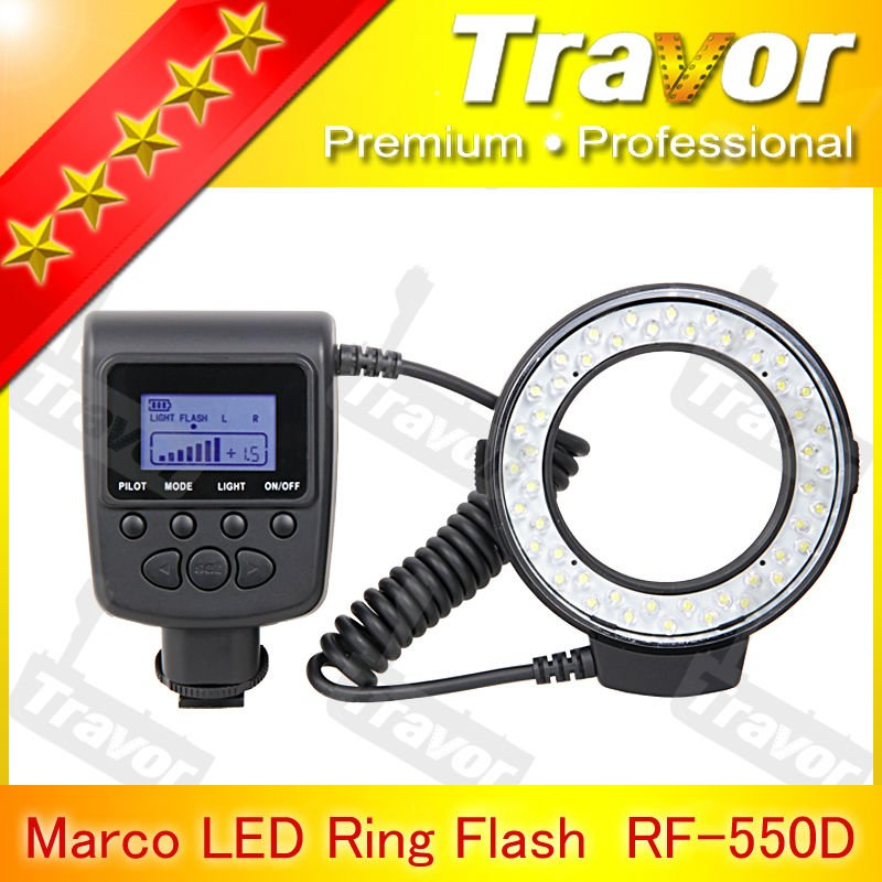 Hot selling RF-550 series macro ring flash for nikon canon olympus