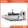 2017 bodor machine factory price for sale fiber laser cutting machine E1530 with swiss design and 3 year warranty