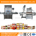 Automatic master foods packing machine oil honey syrup jar filler and capper equipment cheap price for sale