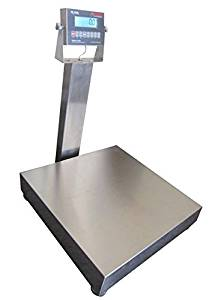 """100 LBS x 0.02 LBS Optima Scale OP-915 NTEP Stainless Steel Washdown Bench Scale 12"""" x 14"""" Platform NEW !!!"""