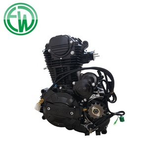 Electric Kick Air Cooled CB250 Motorcycle Engine With Balance Shaft