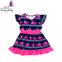 Wholesale High quality latest style summer child dress Girl party wear western style summer dress