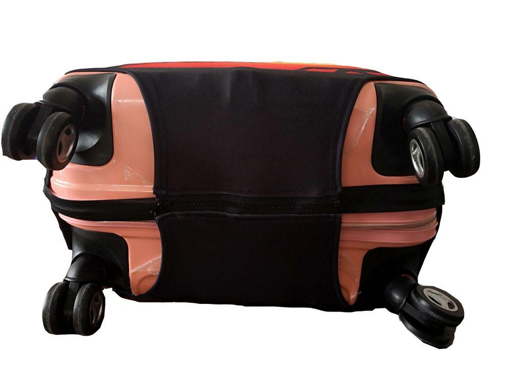高速無料旅行スーツケース保護カバー荷物ケーストラベルアクセサリー弾性荷物カバー