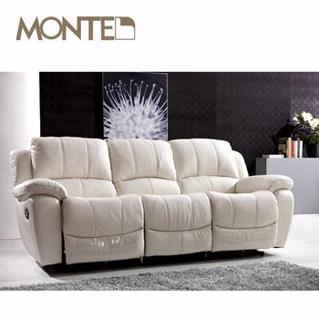 Natuzzi Nitaly Leather Recliner Sofa