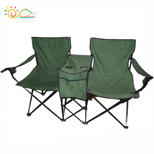 Genial 2017 Hot Sell Camping Furniture 2 Seats Lover Double Beach Chair