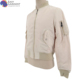 free sample lightweight embroidery logo nylon white full zip wind proof bomber jacket with zipper