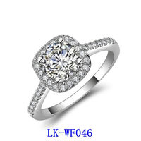 AAA Cubic Zirconia Diamond Rings Jewelry Women Fashion Latest New Model Pictures Engagement Rings