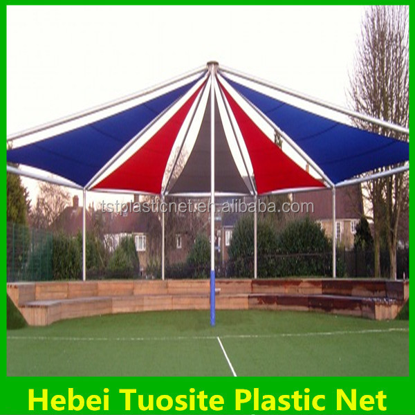 Wave Shade Sail/Customized stylish gazebo retractable awning shade sail