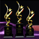 Wholesale Promotional Star Figure Trophy Awards Cup metal Star Trophy