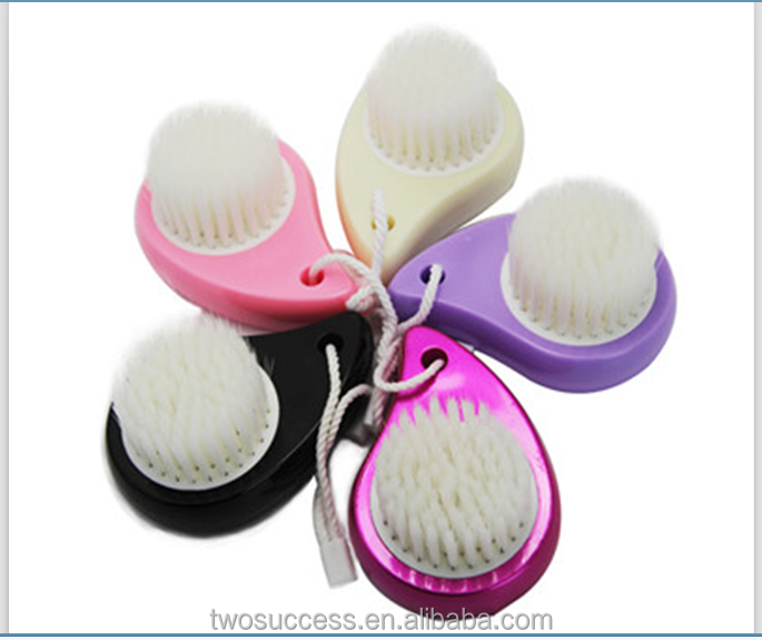 OEM Welcomed personalized Colorful Pore Cleansing Mini Synthetic soft face makeup brush