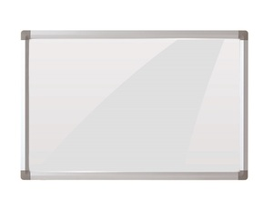 Standard Whiteboard Type No Folded Magnetic Tempered Glass Whiteboard