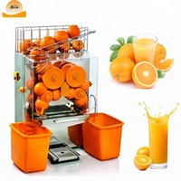 Stainless steel automatic orange juicer electric orange juicer