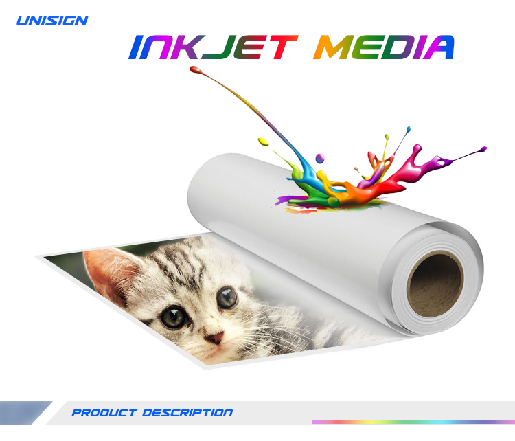 Waterproof Poster Material Eco Solvent Pp Synthetic Paper