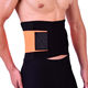 Breathable mesh lower back waist lumbar brace support belt with silicone strip