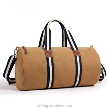 Custom Cylinder Duffle Bags With Cotton Webbing Designer Womens Bag Gym Product On Alibaba