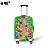 ONE2 design fruit luggage protective cover with green monkey