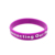 Factory Supply Custom Embossed Logo Silicone Wristband/braclet