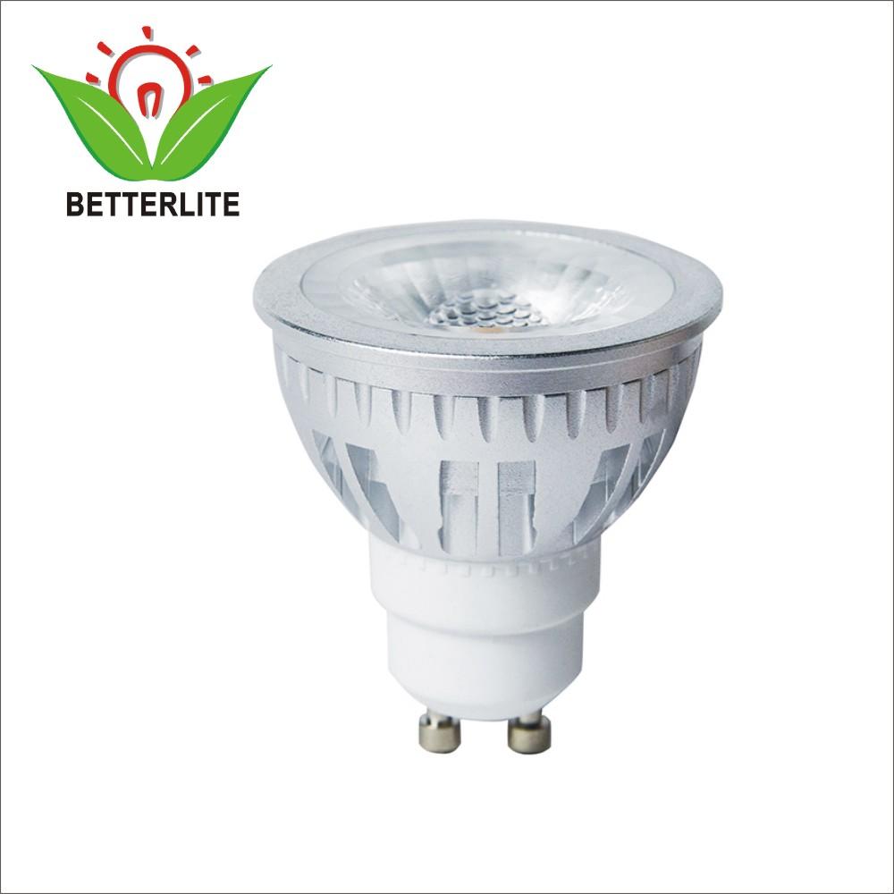 Dim to Warm COB 6W LED Spotlight GU10 For Home Decoration