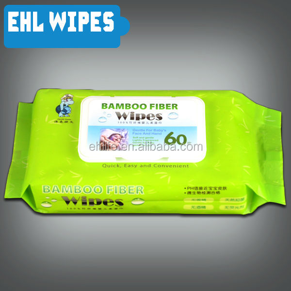 Soft Bamboo Baby wet Wipes Private Label wet wipes made in China
