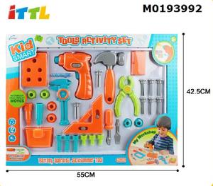 33PCS Most popular popular tool set toy repair tool kit toys pretend toy