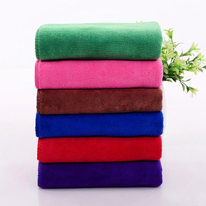 Cleaning cloth rags microfiber novelty towel in china