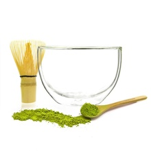 Großhandel Private Logo Emaille Essen Mischen Slant Phantasie Kristall Klar <span class=keywords><strong>Glas</strong></span> Doppel Wand auf <span class=keywords><strong>Glas</strong></span> Salat Lebensmittel Matcha Schüssel <span class=keywords><strong>Set</strong></span>